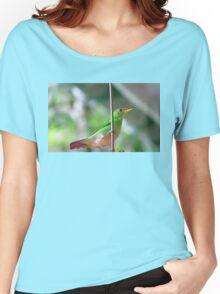 Female green honeycreeper Women's Relaxed Fit T-Shirt