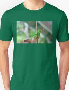 Female green honeycreeper Unisex T-Shirt