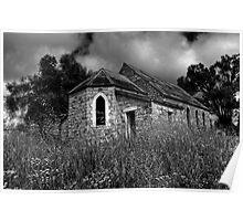 Church Ruins Poster