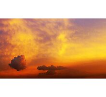 Autumn skies Photographic Print