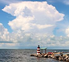 Largo Lighthouse by Rene  Triay