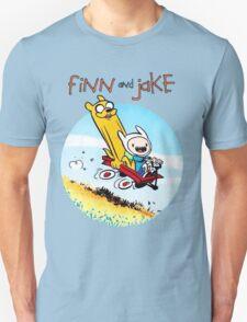 Finn And Jake Adventure Time Unisex T-Shirt