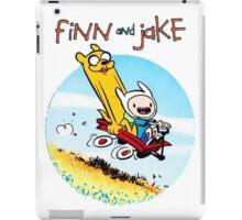 Finn And Jake Adventure Time iPad Case/Skin