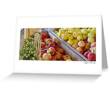 Apple Hops Greeting Card