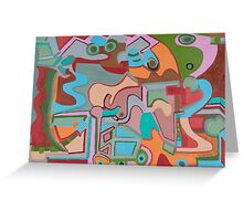Adobe Creatures Greeting Card