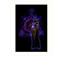 ☼ ☥ Anput, Guardian of Lore ☥ ☾ Art Print