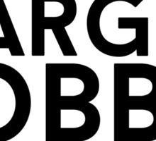 Margot Robbie Sticker