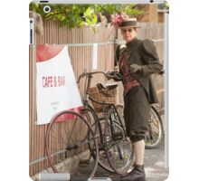 0092 Can I park my bicycle here ? iPad Case/Skin