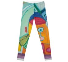 A House Beyond the Rainbow Leggings