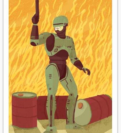 Robocop Sticker