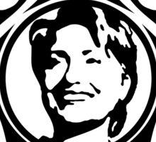 tribal hillary clinton Sticker