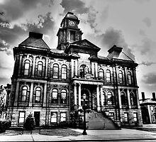 Millersburg Town Hall by Marcia Rubin
