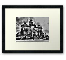 Millersburg Town Hall Framed Print