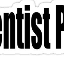Scientist Sticker
