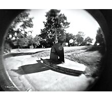 Fisheye Park Photographic Print