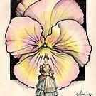 GARDEN PANSY by palma tayona