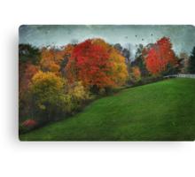 A New England Autumn Canvas Print