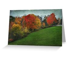 A New England Autumn Greeting Card