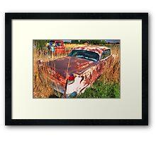 Old car - Cadillac Framed Print
