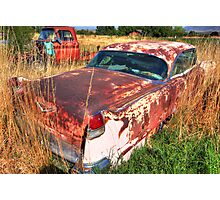 Old car - Cadillac Photographic Print