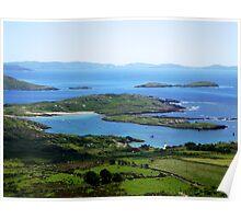 Derrynane Bay - Caherdaniel, Ireland Poster