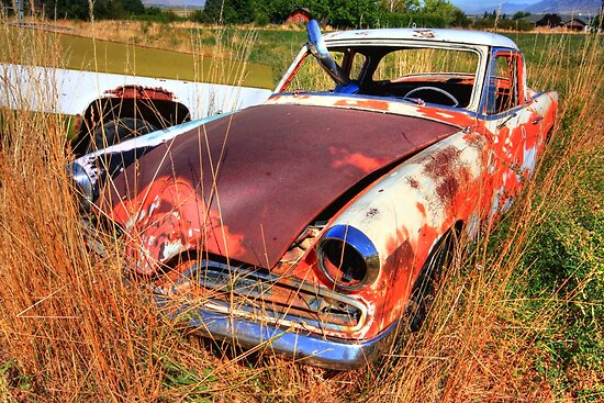 Old car - Studebaker by zumi
