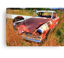 Old car - Studebaker Canvas Print