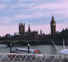 Big Ben from London Eye Sticker