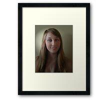Shannon  My Little Poppet Framed Print