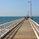 Point Lonsdale Pier by Bevlea Ross
