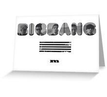 BIGBANG MADE Series Typography Greeting Card