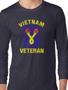 The 196th Infantry Brigade Vietnam Veteran Long Sleeve T-Shirt