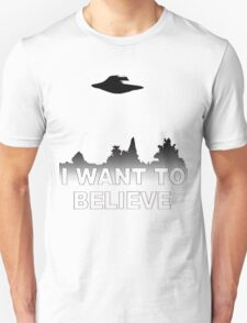 I WANT TO BELIEVE - X Files T-Shirt