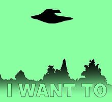 I WANT TO BELIEVE - X Files by medvsa