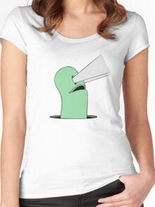 Mowgli Man(coloured) Women's Fitted Scoop T-Shirt