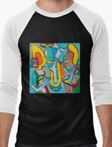 Jukebox in the Corner Men's Baseball ¾ T-Shirt