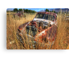 Old car - Packard Canvas Print