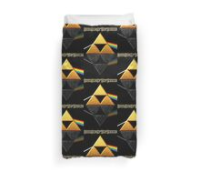 Dark Side of the Triforce Duvet Cover