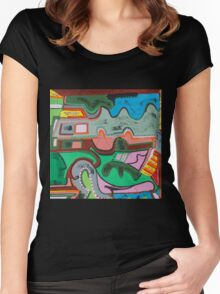 The Circus Barker Women's Fitted Scoop T-Shirt