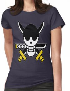 Zoro's Jolly Roger Womens Fitted T-Shirt