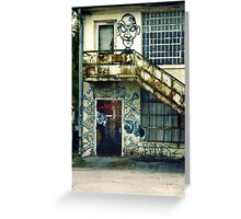 SC State Hospital Laundry Building Greeting Card