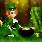 Wee Leprechaun Lass by Brandy Thomas