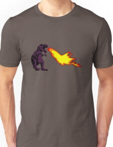 Dinosaur - Purple Unisex T-Shirt