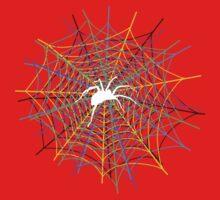 Trippy Spider Kids Clothes
