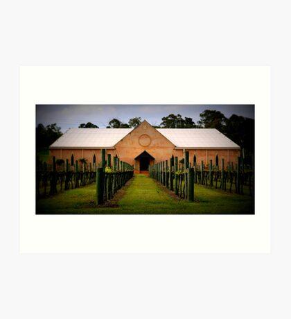 Western Range Wines Art Print