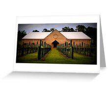 Western Range Wines Greeting Card