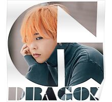 BIGBANG G-DRAGON MADE Series Typography Poster