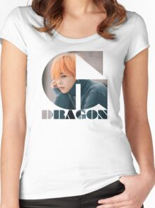 BIGBANG G-DRAGON MADE Series Typography Women's Fitted Scoop T-Shirt