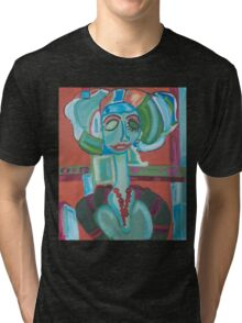 The Green Woman Cometh Tri-blend T-Shirt