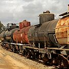 Train Tanker In OERM Yard by Larry3